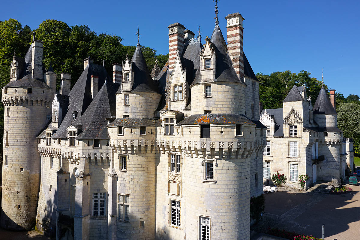 Chateau d'Usse, Loire Valley, France